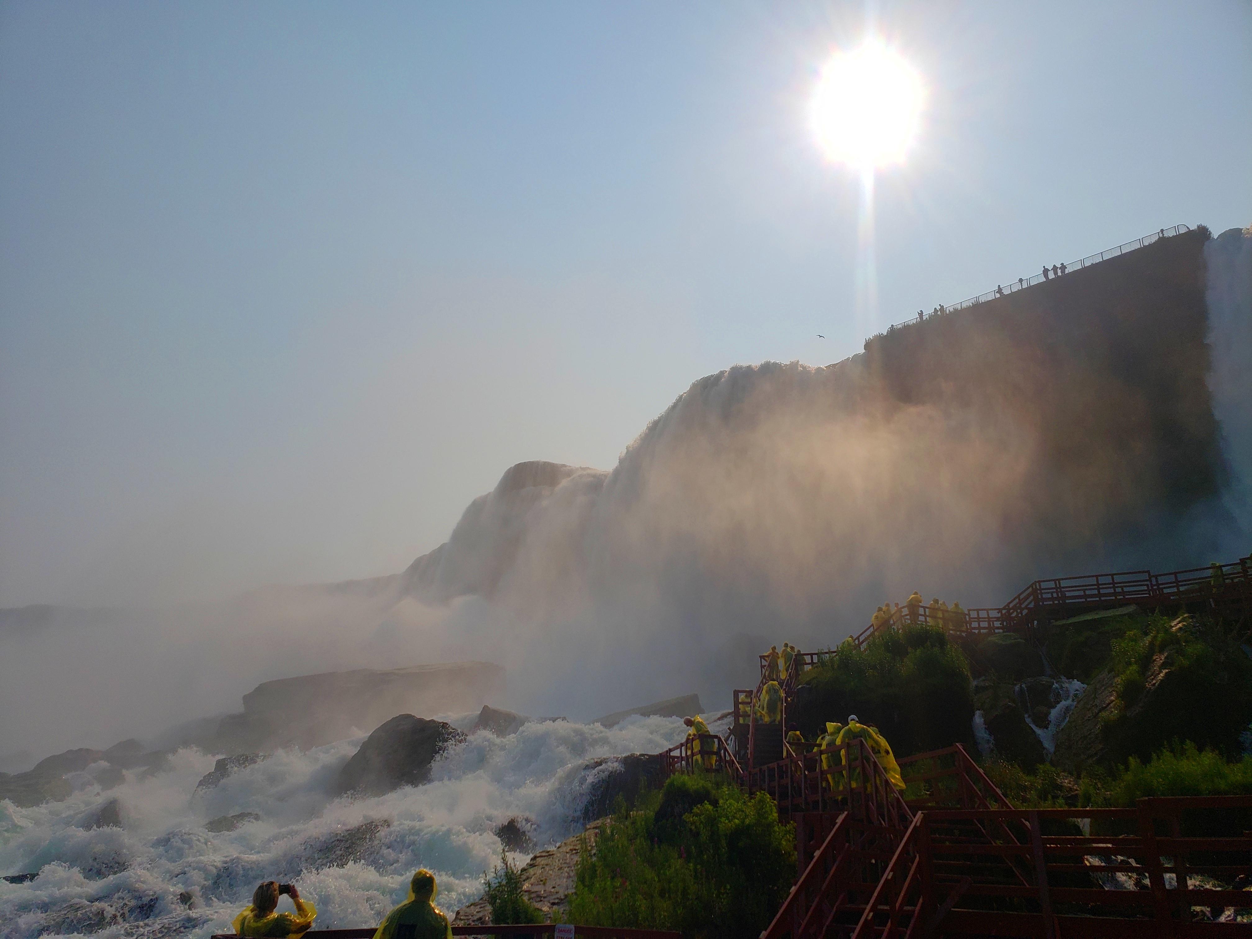 Scenic views of Niagara Falls